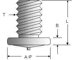 Threaded CD Ground Stud Diagram