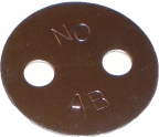 2 Hole Washer
